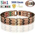 Vishachi Pure Solid Copper Therapy Magnetic Bracelet Men Women Arthritis Pc11