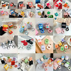 For Airpods Charging Case Cute Favorite Cartoon Silicone Cover & Strap Holder $14.67  on eBay