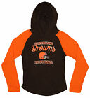 OuterStuff NFL Youth Girls Long Sleeve Hooded Shirt, Cleveland Browns $17.5 USD on eBay