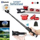 Bluetooth Selfie Stick Mini Monopod+3in1 Lens for ihone XS Max XR 8 Plus 7 6s SE