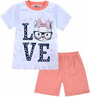 Girls T-shirt and Shorts Set New Cotton Summer 2 Piece Kids Age 1 2 3 4 Years