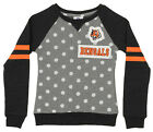 OuterStuff NFL Youth Girls Team Logo Polka Dot Print Crew, Cincinnati Bengals $17.5 USD on eBay