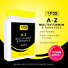 FJS HEALTH A-Z MULTIVITAMINS & MINERALS FOR MEN & WOMEN HIGH QUALITY MADE IN U.K