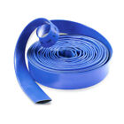 Layflat Hose Blue PVC Water Delivery Pipe Discharge Pump Irrigation Tube Flood