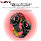 LEMFO L8 ECG smartwatch blood oxygen test Android ios for Huawei Samsung iPhone