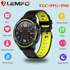 LEMFO L8 smartwatch ECG sleep blood oxygen monitor waterproof Android iOS