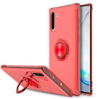 For Samsung Galaxy Note 10+ Plus/5G Clear Slim Ring Kickstand Armor Case Cover