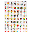 330 Pcs Button Sticker Protector Home for iPhone etc T9C6