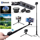 Selfie Stick Mini Tripod Bluetooth Remot Phone Clip+Lens for i Phone X 8 Plus 7