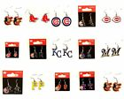 Officially Licensed MLB Team Aminco Dangle Earrings - Pick Your Team on Ebay