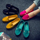 Women Casual Moccasin Slip On Flat Loafers Pumps Pregnant Safe Driving Shoes New
