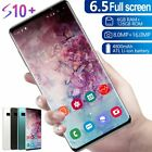 """S10+ 6.5""""android Smartphone 6gb+128gb Face Fingerprint Recognition Dual Unlocked"""