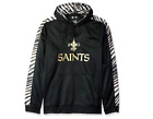 Zubaz Men's NFL New Orleans Saints Pullover Hoodie With Zebra Accents $39.99 USD on eBay