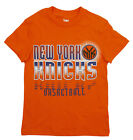NBA Basketball Kids / Youth New York Knicks Extreme Logo T-Shirt - Orange on eBay