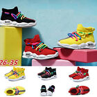Kids Sneakers Boys Girls Mesh Lace Up Sporty Tennis Trainers Shoes Size 85 25