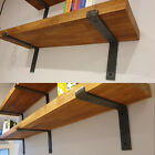 Scaffold Board Rustic Shelves Industrial Solid Wood Chic Shelf | Home Decor Gift