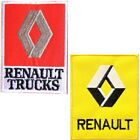 RANAULT Car Patch Iron on Sew Embroidered Car Racing T shirt Cap Badge Logo Sign