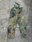 German Army Surplus Flecktarn MVP Salopettes, Waterproof, Windproof & Breathable