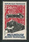 France mint stamps - 1986 Mulhouse Technical Museums, MNH