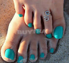 Excellent Fine Women Charm Simple Toe Ring Adjustable Foot Beach Jewelry PKC