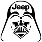 Star Wars Darth Vader LOGO Helmet Empire Sticker Vinyl Decal Car Laptop Window $2.24 USD on eBay