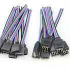 4 PIN Female male RGB Connectors Wire Cable For 3528 5050 SMD LED Strip RCUS