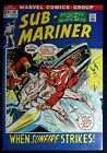 Sub Mariner #54 VF 7.5 1st app. Dragon Lord Gil Kane  Bill Everett art
