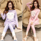New Maternity Sleepwear Cartoon Feeding Homewear Pajama Long Sleeve Tops  Pants