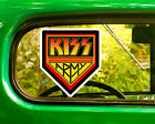 2 Kiss Army Band Decal Stickers Bogo Free Shipping For Car Bumper Laptop Window