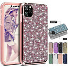 Luxury Bling Glitter Diamond Armor Case Phone Cover For iPhone 11 Pro Max XR Xs