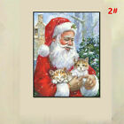 Full Drill 5D Diamond Painting Xmas Embroidery Cross Stitch Christmas DIY Kits