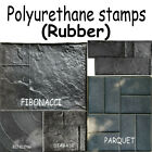 Polyurethane ( Rubber ) Stamps Printed Mold Plaster Stamping Floor Decor Form image
