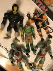 5 Original Thindercats Action Figures Good Condition Telepix TWolf LJN Toys 7""