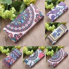 US STOCK New Women Totem Leather Wallet Card Holder Phone Case Bags Long Purse image