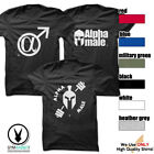 Gym Rabbit Gym Alpha Male T-shirt - Printed Fitness & Workout Clothing image
