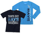 MLB Youth Tampa Bay Rays Fan Two Piece Performance T-Shirt Combo Set on Ebay