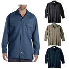 Dickies Work Shirt Long Sleeve Button Dickies 574 Uniform Formal Men Lightweight
