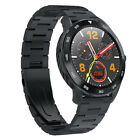 DT NO.1 DT98 Display Bluetooth Smart Watch Full Round HD Screen For Android iOS