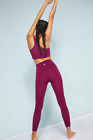 NEW Free People Movement High Waist Sculpt Leggings Purple Made in Italy 120