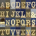 Large Led Light Up Alphabet Letters Warm White Lights Plastic Numbers Standing