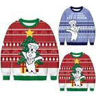 Ugly Couples Womens Mens Christmas Sweater Sweatshirt Xmas Pullover Jumper Tops