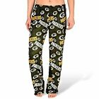Forever Collectibles NFL Women's Green Bay Packers Repeat Print Logo Comfy Pants $24.95 USD on eBay