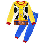Toy Story 4 Kids Boys Cosplay Woody Cowboy Costume Suit Halloween Dress Party