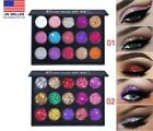 15Colors Matte Eyeshadow Makeup Kit Shimmer Glitter Eye Shadow Powder Palette US