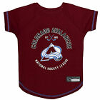 Pets First Colorado Avalanche Dog T-Shirt $19.99 USD on eBay