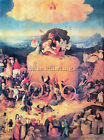 BOSCH CENTRAL TABLE ARTIST PAINTING REPRODUCTION HANDMADE CANVAS REPRO WALL DECO