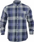 Quiksilver Mens Motherfly Flannel Shirt - Navy Blazer