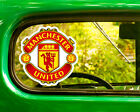 2 MANCHESTER UNITED SOCCER STICKER Decal Bogo For Car Bumper Free Shipping