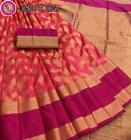 Banarasi Silk New Design Wedding Party Wear Sari Ethnic Traditional Indian RF
