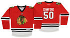 Reebok NHL Youth Chicago Blackhawks Corey Crawford #50 Replica Jersey $16.99 USD on eBay